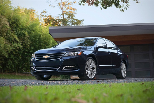 Photo of 2015 Chevrolet Impala courtesy of General Motors.