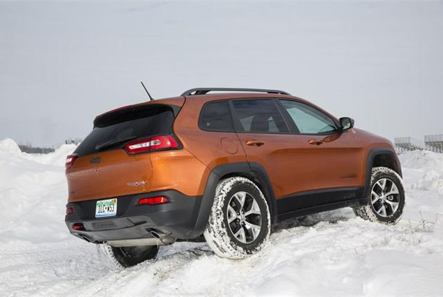 Photo of Jeep Cherokee courtesy of FCA US.