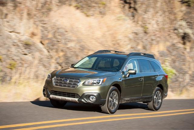 Photo of Subaru Outback courtesy of Subaru.