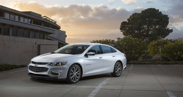 2016 Chevrolet Malibu. Photo courtesy of GM.