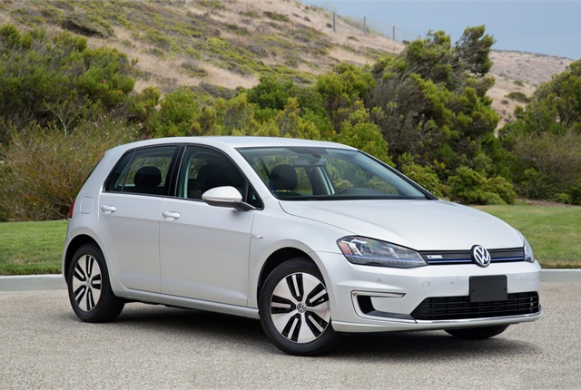 Photo of Volkswagen eGolf courtesy of Volkswagen.