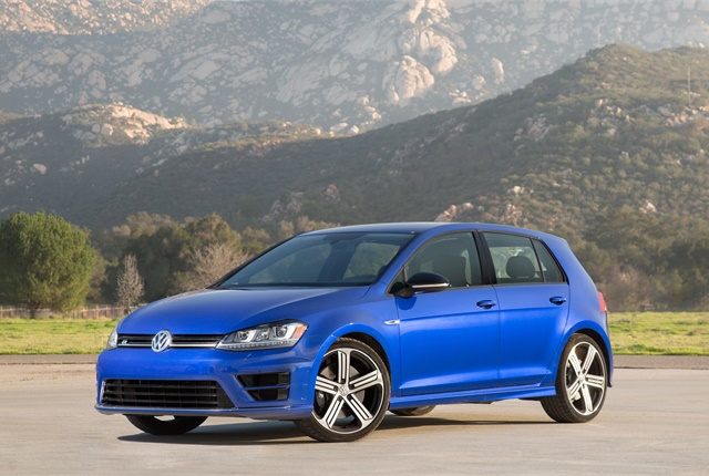 Photo of Volkswagen Golf R courtesy of Volkswagen.