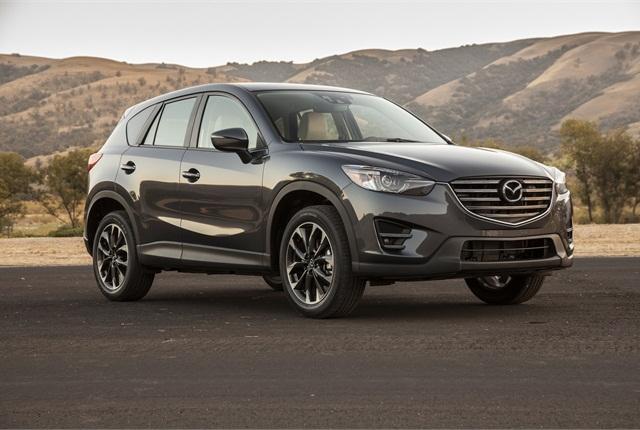 Photo of Mazda CX-5 courtesy of Mazda.