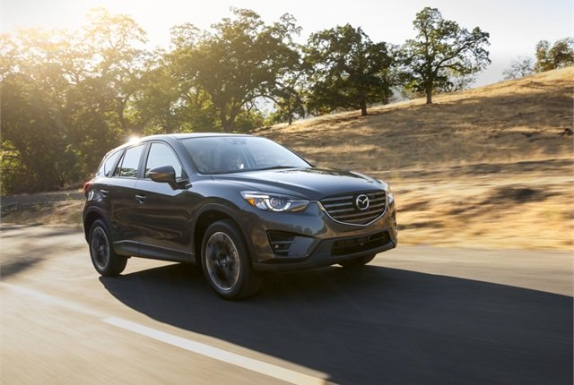 Photo of Mazda CX-5 courtesy of Mazda.