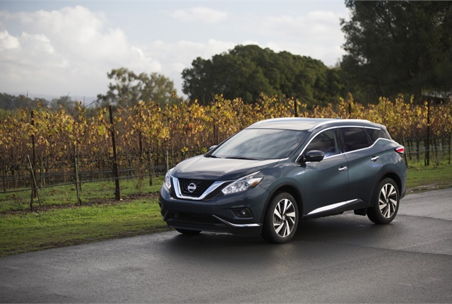 Photo of Nissan Murano courtesy of Nissan.