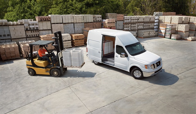 The 2016 NV Cargo Van, photo courtesy of Nissan.