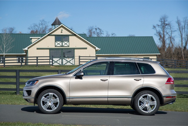 Photo of Volkswagen Touareg courtesy of Volkswagen.