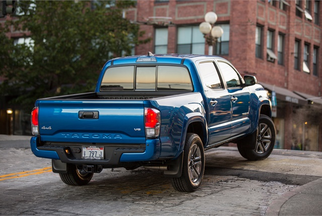 Photo of Toyota Tacoma courtesy of Toyota.