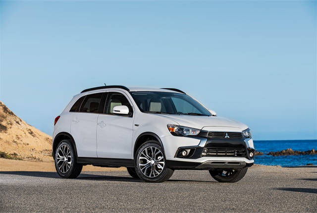 Photo of Mitsubishi Outlander Sport courtesy of Mitsubishi.
