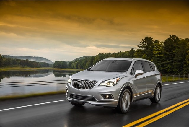 Imageof 2017 Buick Envision courtesy of GM.