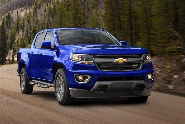 Photo of the 2017 Colorado courtesy of Chevrolet.