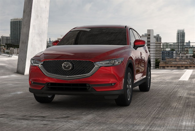 Photo of the 2017 CX-5 courtesy of Mazda.