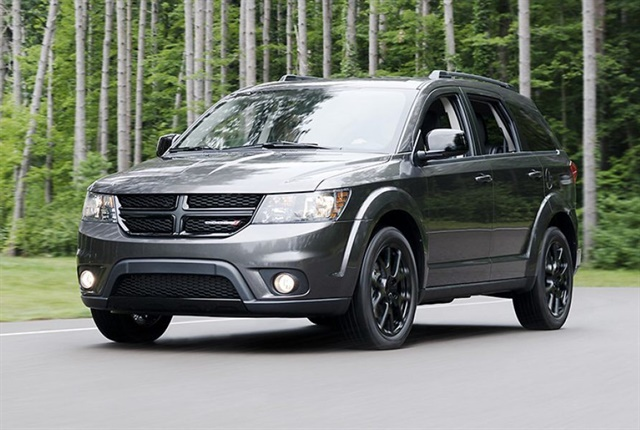 Photo of the 2017 Dodge Journey courtesy of Dodge.