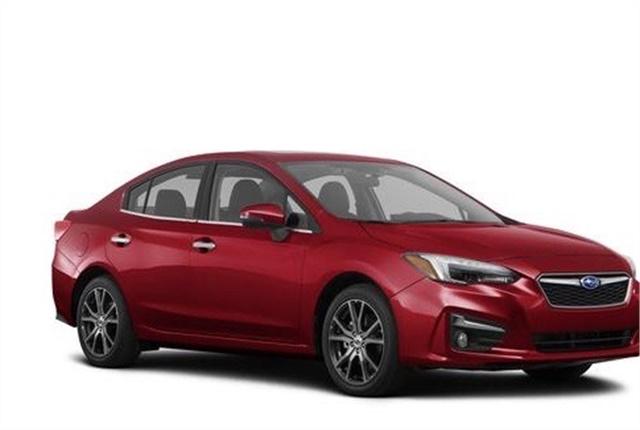 Photo of Subaru Impreza courtesy of Subaru.
