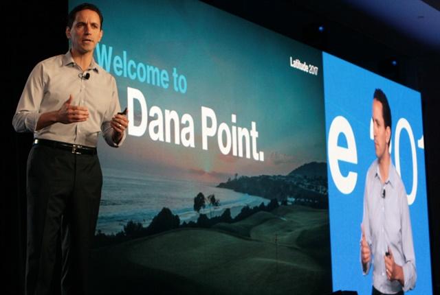AndrésIrlando, Verizon Telematics CEO, speaks at the 2017 Latitude conference. Photo courtesy of Verizon.