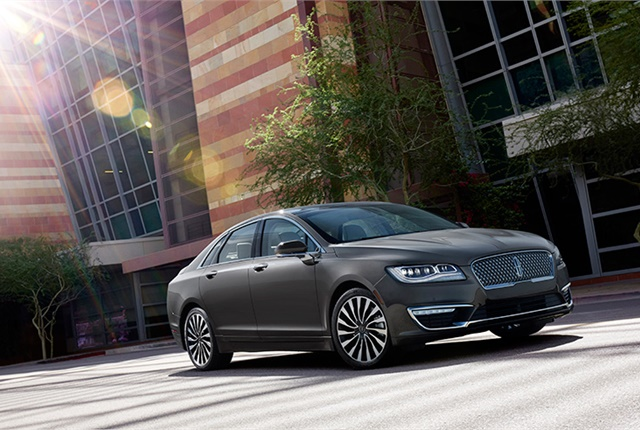 Photo of Lincoln MKZ courtesy of Lincoln.