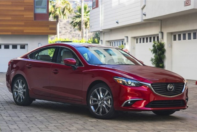 Photo of 2017 Mazda6 courtesy of Mazda.