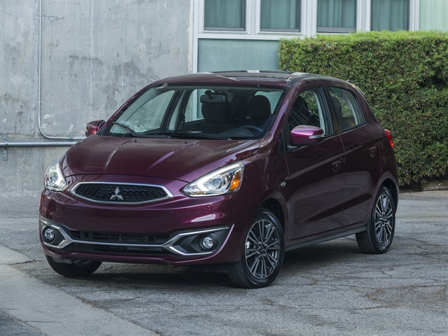 Photo of 2017 Mirage courtesy of Mitsubishi.