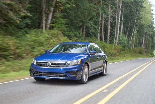 Photo of Volkswagen Passat courtesy of Volkswagen.