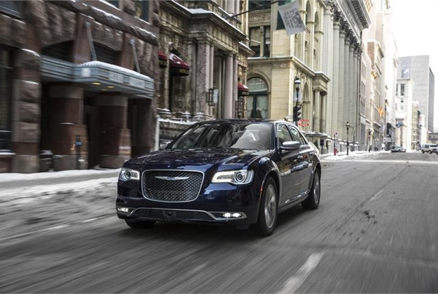 Photo of Chrysler 300 courtesy of FCA.