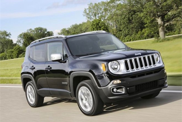 Photo of Jeep Renegade courtesy of FCA.