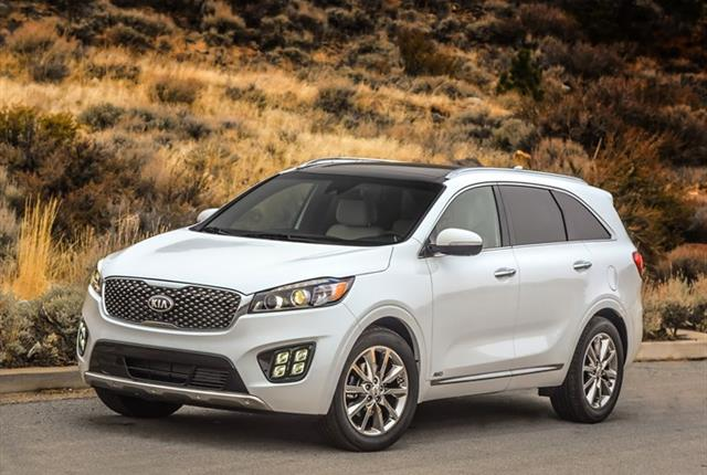 Photo of Kia Sorento courtesy of Kia.