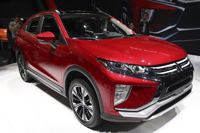 Photo of the 2018 Mitsubishi Eclipse Cross by Paul Lim.