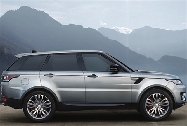 Photo of Land Rover Range Rover Sport courtesy of Land Rover.