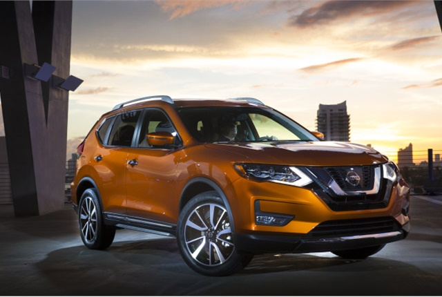 Photo of Nissan Rogue courtesy of Nissan.