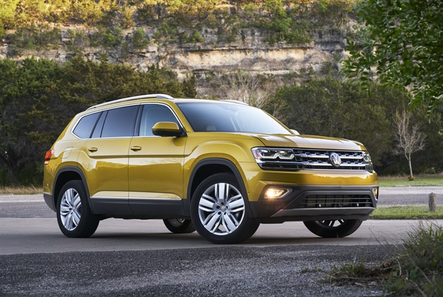 The 2018 Volkswagen Atlas. Photo courtesy of Volkswagen