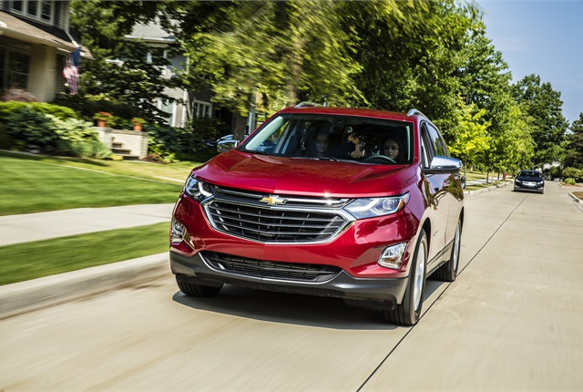 Photo of Chevrolet Equinox courtesy of Chevrolet.