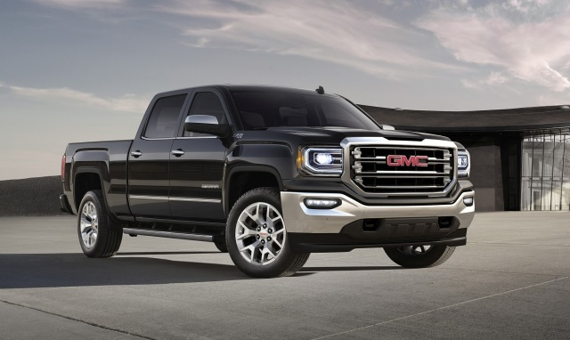 Photo of 2018 GMC Sierra courtesy of General Motors.