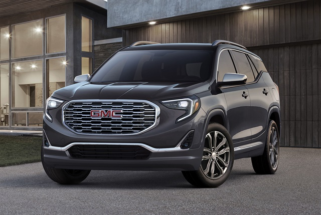 Photo of 2018 GMC Terrain courtesy of GM.