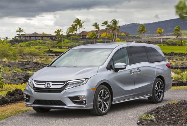 Photo of Honda Odyssey courtesy of Honda.