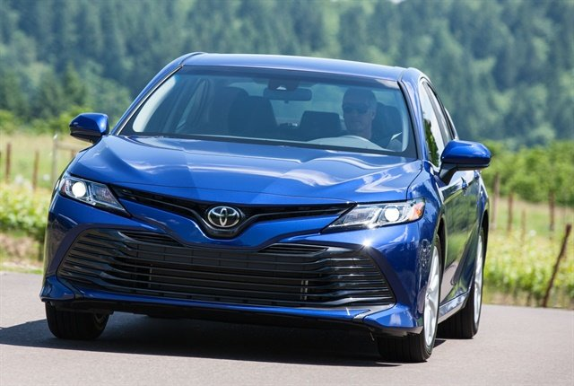 Photo of the 2018 Camry courtesy of Toyota.