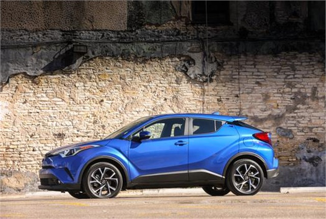 Photo of Toyota C-HR courtesy of Toyota.