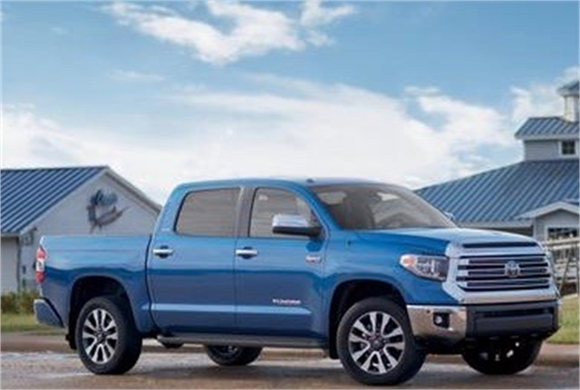 Photo of Toyota Tundra courtesy of Toyota.