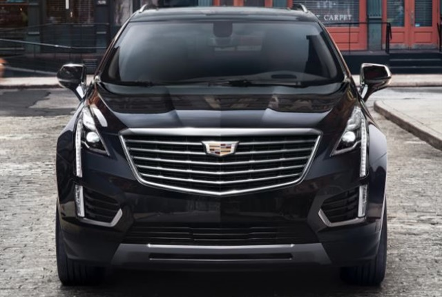 Photo of theXT5 luxury SUV courtesy of GM.