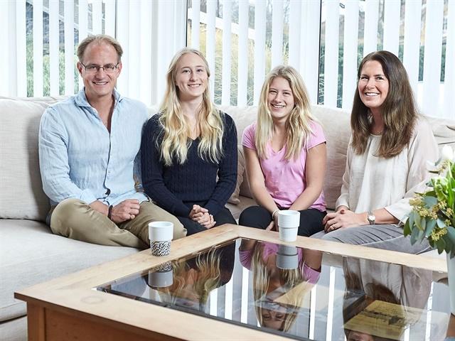 Photo of the Hain family courtesy of Volvo.