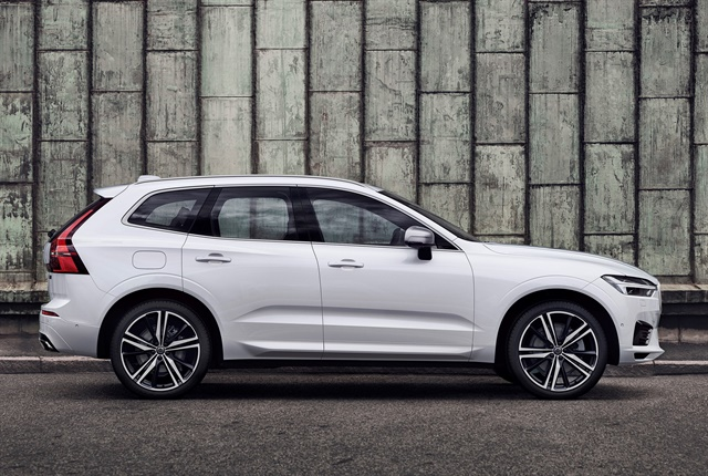 Photo of 2018 XC60 courtesy of Volvo.