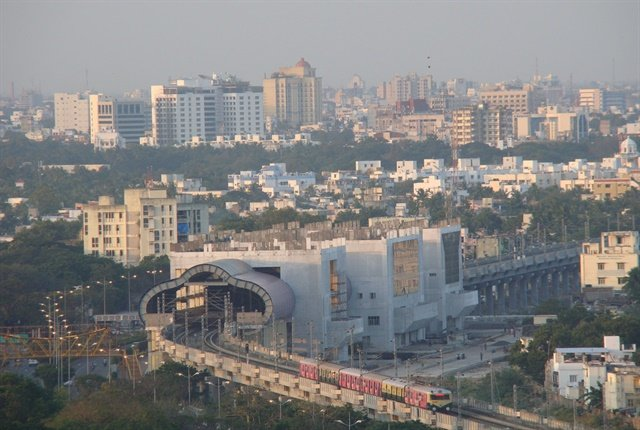 Photo of Chennai skyline courtesy of nashcode.