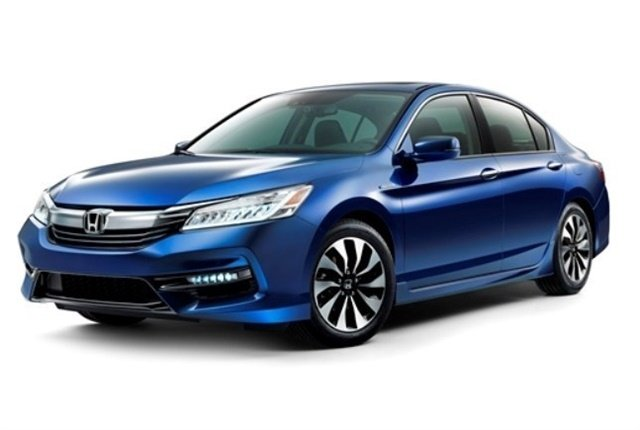 Photo of 2017 Accord Hybridcourtesy of Honda.