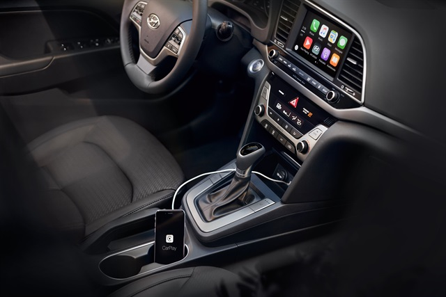 The 2017 Hyundai Elantra Photo courtesy of the automaker.