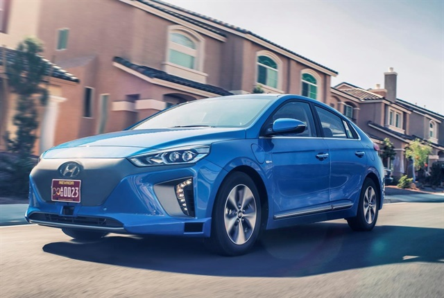 Photo of autonomous IONIQ concept courtesy of Hyundai.