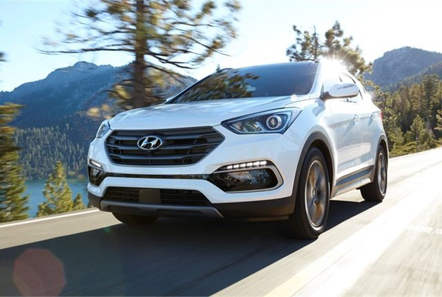 Photo of Hyundai Santa Fe Sport courtesy of Hyundai.