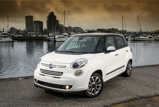 Photo of 2014 Fiat 500L courtesy of Chrysler Group.