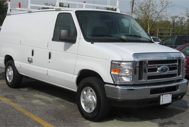 The recall covers modified Ford E-Series vans in the 2006-2014 model years. Photo by IFCAR via Wikimedia Commons.
