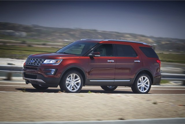 Photo of 2016 Ford Explorer courtesy of Ford.