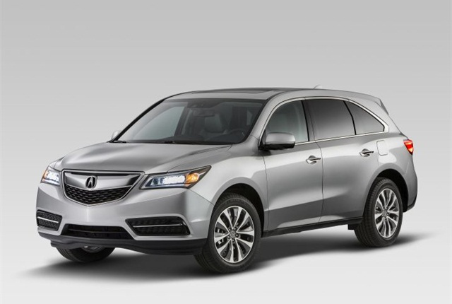 Photo of 2015 MDX courtesy of Acura.