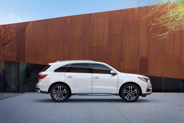 Photo of 2017 Acura MDX courtesy of Honda.